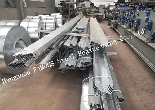 DHS galvanized steel purlins girts exported to Oceania